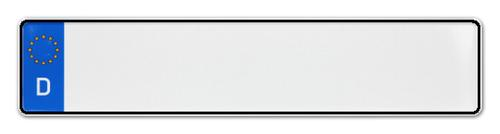 Autokennzeichen mit Wunschkennzeichen