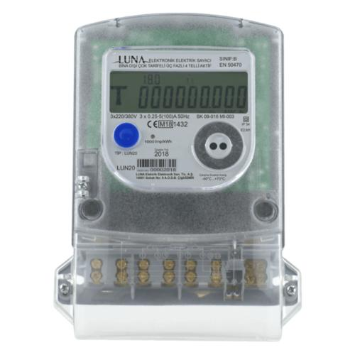 Drehstromzähler MID 5/60 Amp.