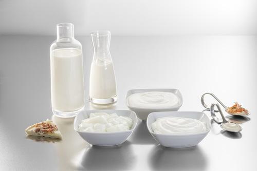 Milchprodukte, Sahne, Joghurt