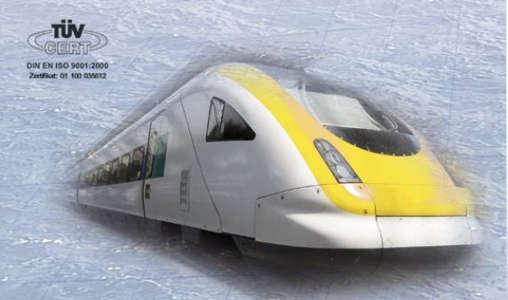Magnetventile für Bahntechnik
