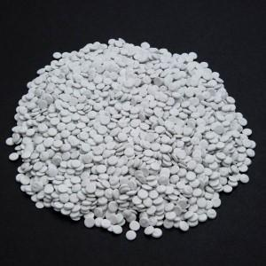 Recycled LDPE White Pellets
