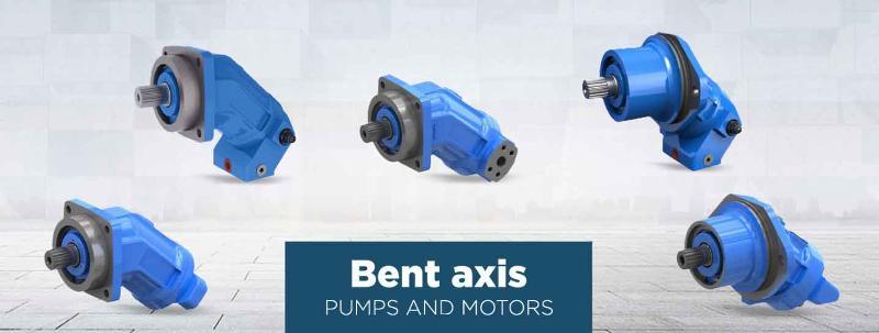 Bent axis pumps