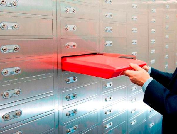 Alquiler cajas de seguridad