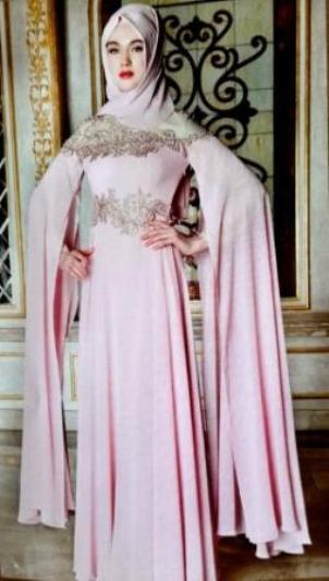Wedding dresses and evening dress hijab