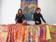 Pashminas, pañuelos, chales,fulares de seda estampada y viscosa  o lana lisa, XL, Hechos en España. Venta por menor y por mayor
