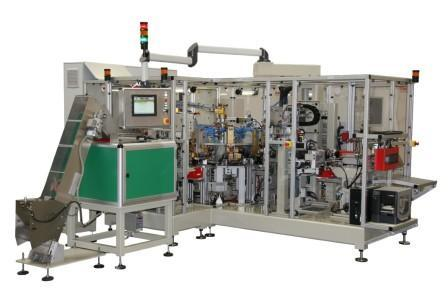 Automatic resistance welding machine for the electrotechnical industry