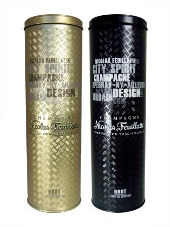 Canister champagne / Boite champagne
