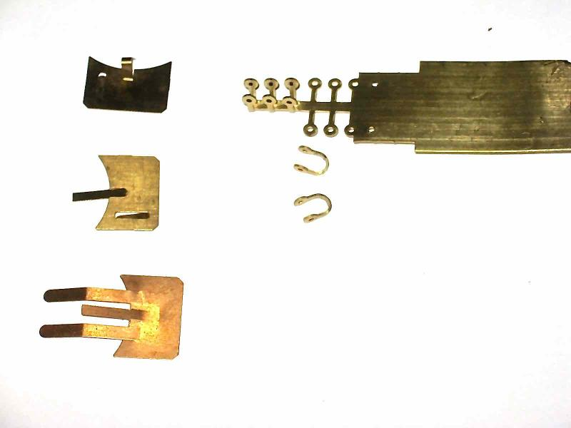 ELECTRICAL CONTACTS IN COPPER, BRASS, BRONZE FOR ELECTRONIC BOARDS