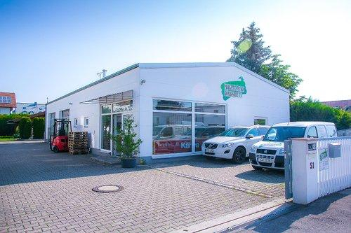 Parkett Studio Koenigsbrunn Aussenansich