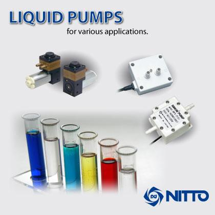 We offer AC piezoelectric and DC liquid pumps e.g. for use in medical & chemical markets,biotechnology and analysis.