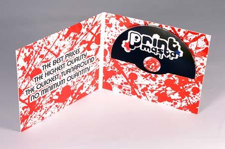 Digifile 4p, low quantities, digitally printed