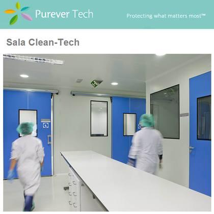 Moderate environmental cleaning requirement, with the need of flush-mounting all its elements. Ideal for the chemical industry, hospitals, pharmaceutical companies or photovoltaic industry.