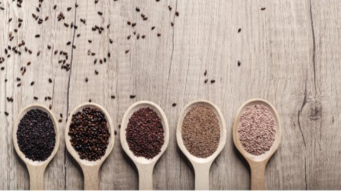 Dried fruit seeds