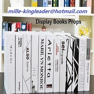 Dummy Fake  Books Props for showroom decorative design studio exhibition art