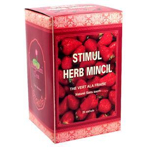 Le thé Minceur Herb Mincil à la Fraise pour vous aider à mincir au goût agréable