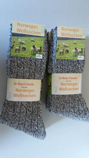norweger Socken 3er teilung