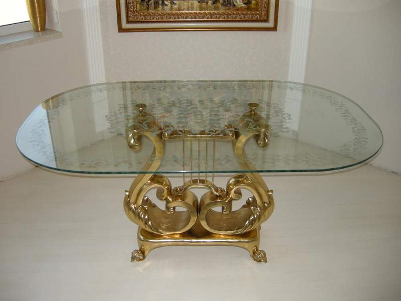 Brass / Bronze + Glass Functional Art