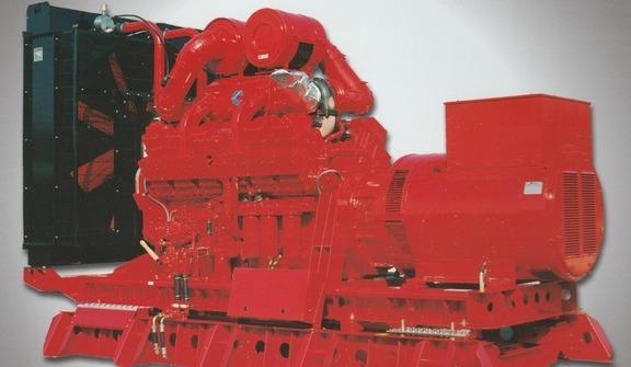 Gruppi elettrogeni con motore diesel ed alternatore senza spazzole in esecuzione tropicalizzata