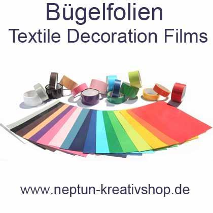 Bügelfolien Textile Decoration Films