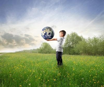 100%  biodegradabile, Salva la Natura !