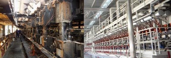 ripristino impianto industriale