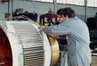 Revisione e riavvolgimento di macchine elettriche