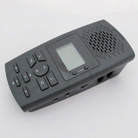 enregistreur téléphonique raccordé à votre téléphone, enregistrez sur une carte SD tous les appels émis ou reçus avec les N° de téléphones heures et durée.écoute depuis SD PC ou mac