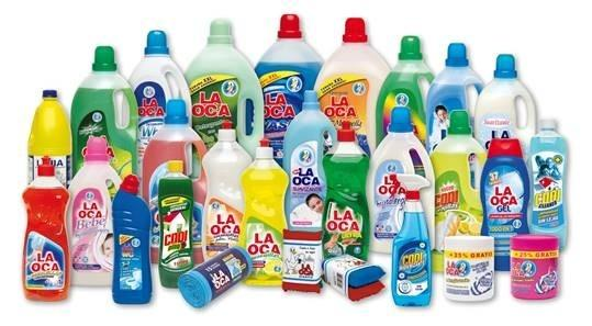 Laundry domestic detergents