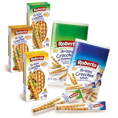 Grissini Crocchini Salati Roberto