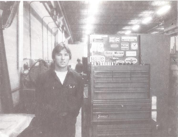 Joe in 1981