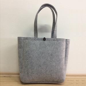 Filztasche, kann aus verschiedenen Fabrikgewichten herstellt werden. Transfer Druck nach Kundendata is möglich zu leisten.