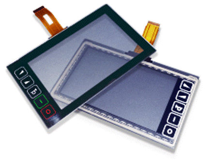 Resistive and capacitive touchscreens