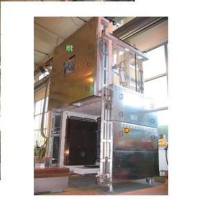 Herdwagenofen/bogie furnace