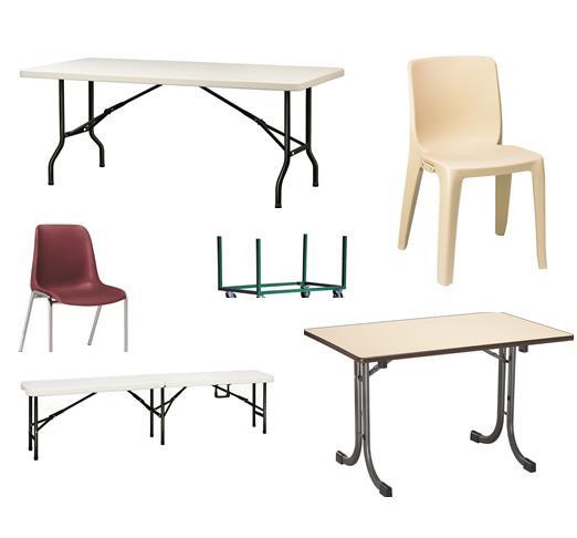MOBILIER TABLES CHAISES