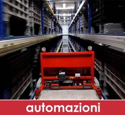 SOLAR: progettazione, preventivazione e installazione, in collaborazione con aziende Italiane, di magazzini automatizzati o semi-automatizzati