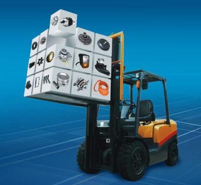 Importiamo ricambi per carrelli elevatori di tutte le marche Cinesi e Giapponesi .