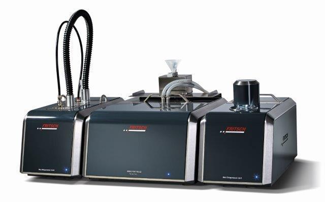 Dank des besonders weiten Messbereichs von 0,01 – 2100 μm ist die ANALYSETTE 22 NanoTec das ideale, universell einsetzbare Laser-Partikelmessgerät für Partikelgrößenanalysen bis in den Nano-Bereich