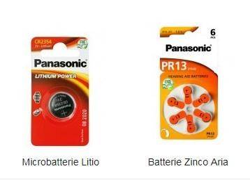 panasonic batterie al litio , batterie alcaline