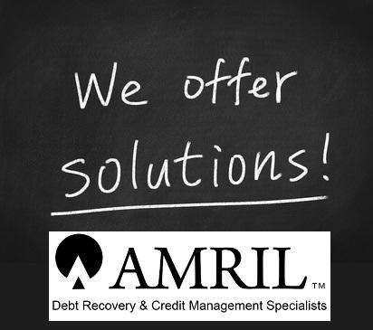 Amril offer a No win, no fee or fixed fee proposal to support your debt collection needs.