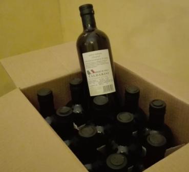Olio Extra Vergine di oliva in Vetro da 1 Lt confezionamento in cartone da 12 bott.