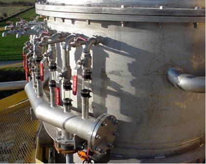 Filtre épaississeur exofalc pour l'industrie