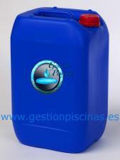 Cloro en garrafas de 20L. especial para bombas dosificadoras en su uso para agua potable y piscinas.