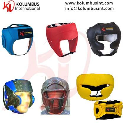 Offering variety of head guards as per client design and specification in leather, PU and artificial leather.