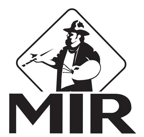 MIR Artist Logo division