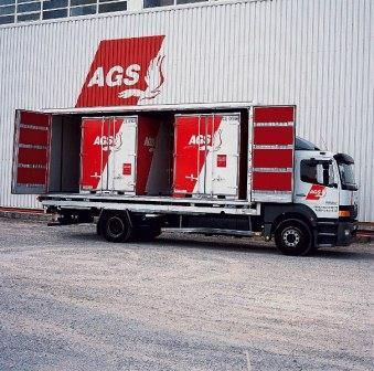 AGS Four Winds Taiwan - Road shipment