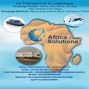Comme en Groupage ou complet depuis le Maroc - Mauritanie ,Mali , Sénégal , Burkina , Niger , Cameroun, Tchad , Benin