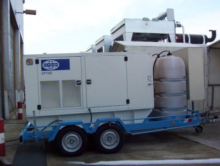 Option : réservoir additionnel de 500 litres