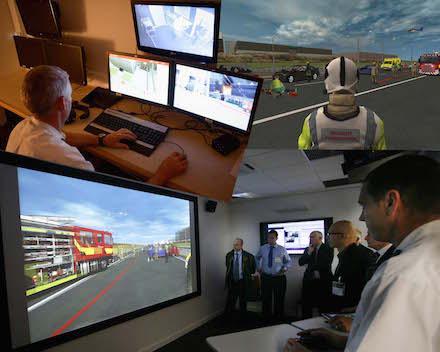 Immersive training environment