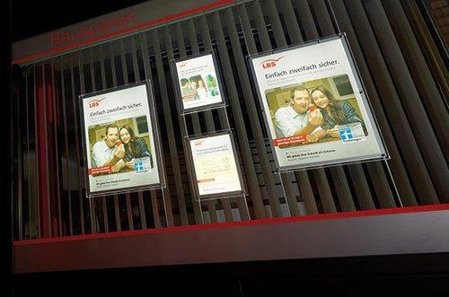 LED-Schaufenster-Display