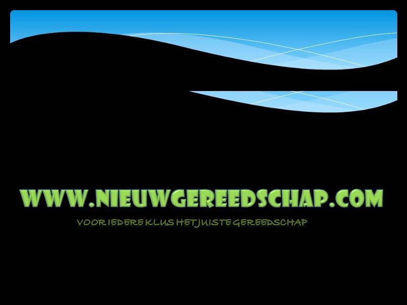 De machines en gereedschappen shop van Friesland